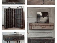 Misc. items, decor and jewelry, etc. that could be found at or made from Flea Market Finds!