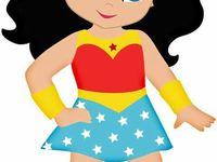 Toddler-Like SuperHeros