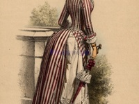 780 fruehe tournuere early bustle era ca 1870 1875 76 ideen in