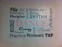 My dance studio
