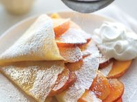 Recipes, Crepes on Pinterest | Crepes, Ham And Eggs and Peaches