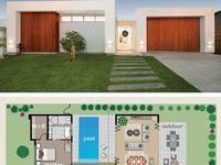27 besten hauspl ne bilder auf pinterest grundriss bungalow grundrisse und haus pl ne. Black Bedroom Furniture Sets. Home Design Ideas