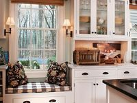 Kitchen window seating
