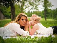 Mother daughter photography ideas