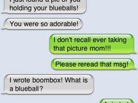 Funnies. :)