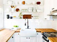 konyhák, étkezők