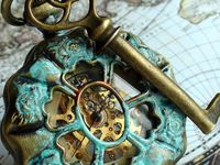 Steampunk...the perfect union of history and future...get your post apocalyptic fix of steampunk clothing, steampunk style, steampunk art, steampunk design, and steampunk ideas here!