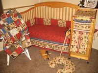 Custom Quilts, Nursery Sets, Diaper Bags and More!! Western Print, Camo, John Deere