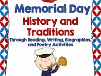 memorial day writing prompt kindergarten