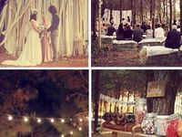 Ideas for weddings in the woods
