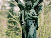 Cemetary Statues