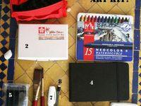 art journal kit