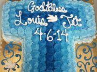 baptisem cakes