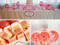 Girl  and boy baby shower ideas