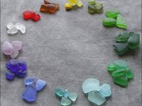 sea glass - sea pottery