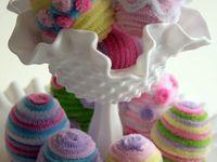 eggs, grass, bunnies, birds, nests, baskets (made on beltane?). baby animals.