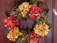 Wreaths created by Craft Attitude artists and our friends and followers.