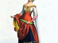 14th century French fashion