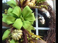 Fall & Winter wreaths
