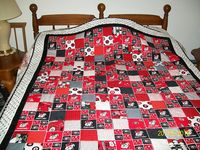 167 Best Images About Georgia Bulldogs Quilts On Pinterest