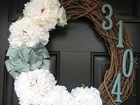 For the Home {Front Doors, Porches & Entry Ways}