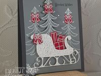 85 Best Santa Sleigh Thinlits Images On Pinterest