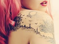 Ink designs and misc photography