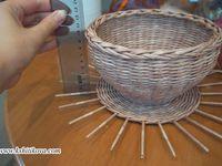 Плетение / Плетение из газет и лозы