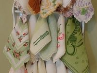 All kinds of hankies & crafts with hankies.