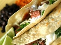Mexican and Spanish dishes