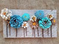 52 Ideas De Cuadros Con Piñas En 2021 Artesanía Con Piña Manualidades Con Piñas Flores De Piña