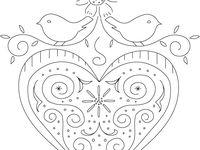 pennsylvania dutch hex sign coloring pages - photo #18