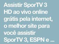 Assistir Sportv 3 Online Ao Vivo 24 Horas Gratis Sportv