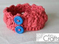 ... Kits Crafts on Pinterest Crafts, Quiet books and Crochet bracelet