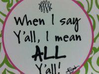It's A Southern Thang!!