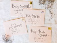 Calligraphy & Hand-lettering