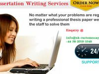 Dissertation Writing Services / UK Custom Essays can help you for your dissertation & thesis writing needs at 20% discount.