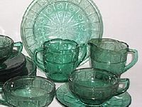 Depression Glass, Carnival, and Antique Glass