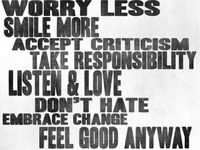 phrases to live by