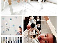 Geometric Nature Inspired Nursery or Kids Room