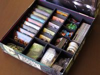 31 best images about arkham horror on pinterest for Board game storage solutions