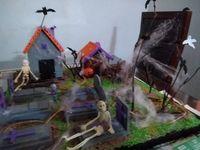 Maqueta Casa Embrujada Halloween Casas Embrujadas Maquetas Casas