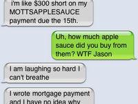 I laughed so hard I snorted
