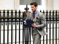 "Menswear, menswear, glorious menswear....................   ""A well tailored suit is to women what lingerie is to men"""
