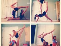 31 best images about 2 person gymnastics poses on