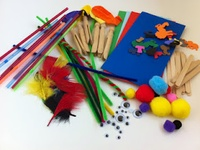 Lots of great craft and play activities to keep the kids entertained for hours.