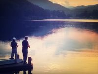 27 best images about walking trails of lake junaluska on for Lake junaluska fishing