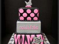 cheerleading cakes