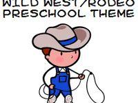 Childcare western theme