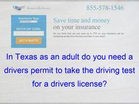 Pin Pa In Texas As An Adult Do You Need A Drivers Permit To Take
